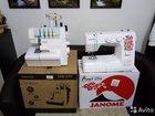 Швейная машина Janome Ami 25s и Оверлок dexp