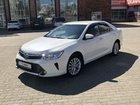 Toyota Camry 2.5AT, 2015, 60000км