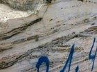 Горный камень, Травертин в плитах (кусок скалы)