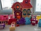 Домик кукольный с игрушками