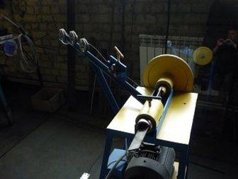 Скачать фото Строительные материалы Станок, оборудование для изготовления рабицы, с бесплатной доставкой в Барнаул 33581636 в Барнауле