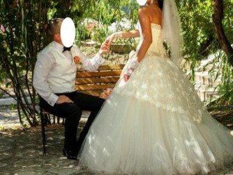 Просмотреть фото Свадебные платья Продам шикарное свадебное платье 34121096 в Балаково