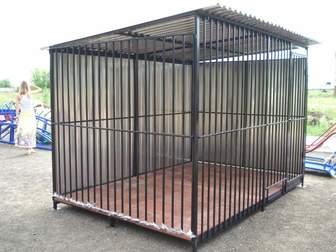 Смотреть фотографию Строительные материалы Вольеры для животных из металла 36887980 в Балаково