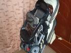 Уникальное фото  Детская коляска для двойни, весна-осень 37587812 в Барнауле