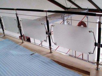 Уникальное foto  Прочные ограждения со стеклом 33177043 в Барнауле