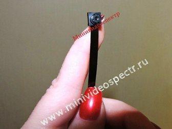 Свежее фото  Автономная миникамера с Wi-Fi 33816666 в Москве