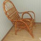 Кресло плетёное из ивы