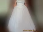 Фотография в   Свадебное платье: вверх выполнен из атласа, в Березниках 6000