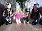 Кукла текстильная, рост 28 см