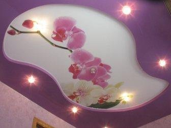 Новое фото Ремонт, отделка Ровный , красивый , безопасный для здоровья натяжной потолок 33670018 в Бийске