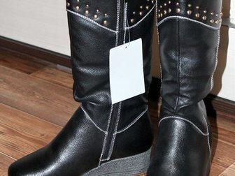 Скачать foto Детская обувь Сапоги подростковые зимние, р, 35 (маломеры) 33794919 в Бийске