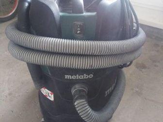 Metabo ASA 25l pc,  Использовался в домашних условиях,  Возможность использование с мешком, и без мешка для сбора пыли,  Имеет принудительно обдув фильтра,  Разумный в Бийске