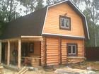 Фото в Строительство и ремонт Строительство домов Предлагаем срубы домов, бань, беседок, Малые в Брянске 0