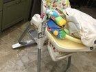 Стульчик шезлонг детский 0  для кормления Чикко 3в