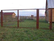 Ворота и калитки с доставкой Ворота каркас:  1, 5*3м  1, 5*1м.   1, 5*4м.   1, 8