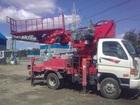 Фотография в Услуги компаний и частных лиц Разные услуги Аренда автовышек 12-28 метров малогаборитных в Чехове-7 7200