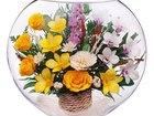 Скачать фотографию Другие предметы интерьера Композиция из роз и орхидей (арт, ELM-08) 53941166 в Челябинске