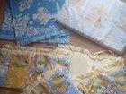 Комплект в кроватку бортики одеяло подушка