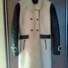 Зимнее кожаное пальто, продам