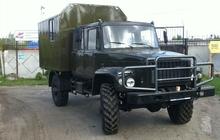 Автомобиль для охоты и рыбалки на шасси ГАЗ-33088