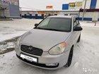 Hyundai Verna 1.6МТ, 2006, 185000км