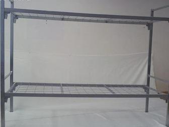 Просмотреть изображение Мебель для спальни Металлические кровати эконом класса, двухъярусные кровати 70470086 в Чите
