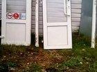 Стеклопластиковые двери с коробкой