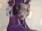 Изображение в Для детей Детская обувь Очень нарядные осенние сапожки в отличном в Дмитрове 2200