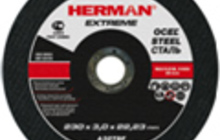 Абразивный отрезной круг Herman extreme
