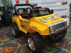 Скачать бесплатно фотографию  Продаем детский электромобиль хаммер е444кх 35122567 в Долгопрудном