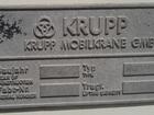 Скачать foto Спецтехника Автокран KRUPP КМК 7250, 1994 г, в 68365507 в Волжском