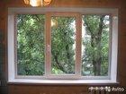 Трехстворчатое пвх окно 2900x1550 в рассрочку