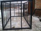 Изображение в Строительство и ремонт Строительные материалы Вольеры для собак, птиц (размеры наружные) в Егорьевске 22000