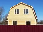 Фото в Недвижимость Агентства недвижимости Продается двухэтажный новый, из профилированного в Егорьевске 1250000