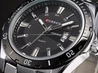 Фотография в Одежда и обувь, аксессуары Часы Продам часы Curren люксовый бренд из нержавеющей в Екатеринбурге 300