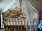 Фотография в Для детей Детская мебель Продам детскую кроватку вместе с матрацем, в Красноуфимске 4000