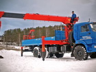 Уникальное фото Самопогрузчик (кран-манипулятор) Новый КМУ kanglim KS2056H с буром 36542566 в Екатеринбурге