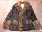 Свежее фото Мужская одежда Куртка жен, натур, кожа размер 48-50 37852872 в Екатеринбурге