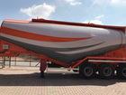 Увидеть фото Цементовоз Цементовоз Ali Riza Usta объем 34м3, новый 39261077 в Екатеринбурге