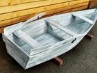 Смотреть фото  Лодка декоративная для интерьера 66527448 в Санкт-Петербурге