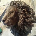 Лепнина гипс, стеклопластик, Голова маска льва