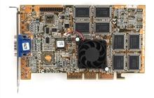 Видеокарта AGP в ассортименте