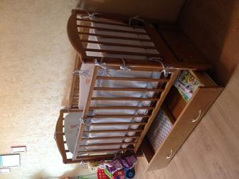 Скачать фотографию Детская мебель Кроватка для новорожденного б/у 36588694 в Екатеринбурге