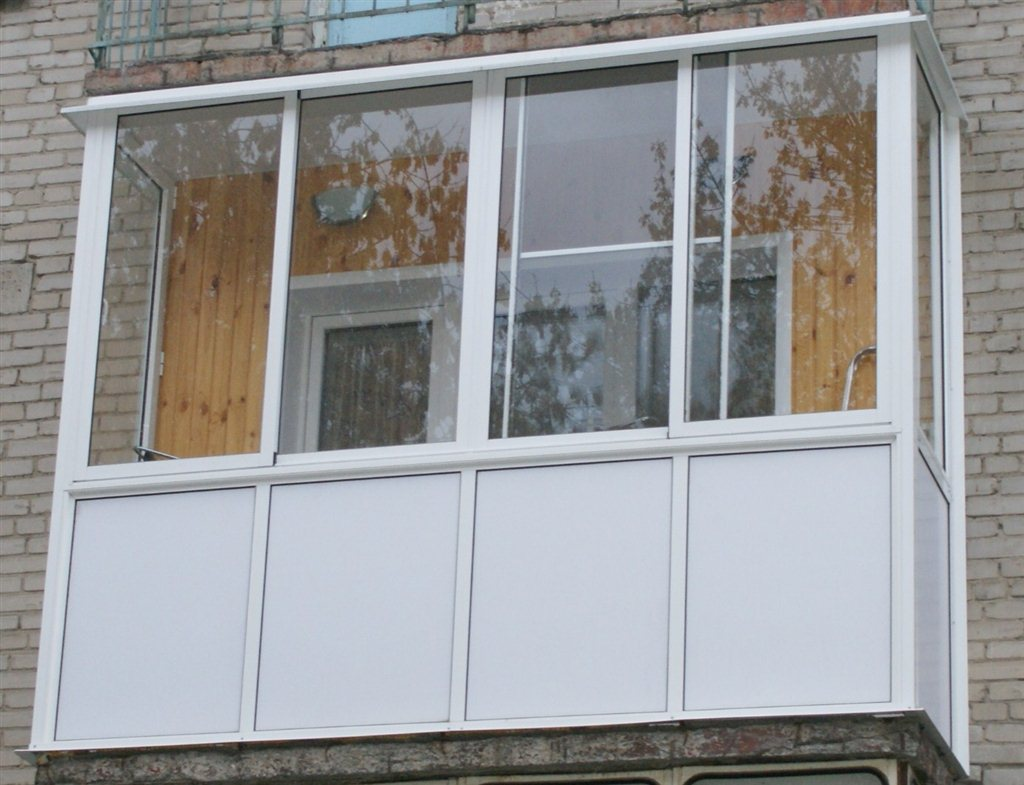 Монтаж балконов с выносом, лоджий , внутренняя в каменск-ура.