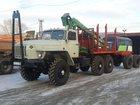 Фото в Авто Грузовые автомобили Продам Лесовоз Урал 43204 с манипулятором в Хабаровске 0
