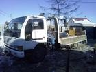 Уникальное изображение Транспортные грузоперевозки грузовик с краном 3/2, кузов 3,75*1,95*0,7м 58458238 в Хабаровске