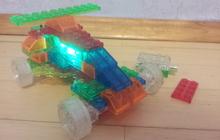 Светодиодный конструктор Машина 4 в 1