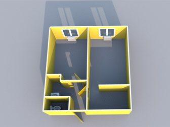 Уникальное изображение  Комната 18 кв, м, в п, Мирном, ул, Клубная 33800766 в Хабаровске