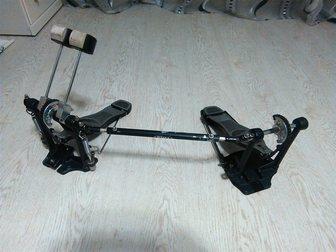 Смотреть фотографию  Продам двойную педаль (кардан) MAPEX P380A, 33822225 в Хабаровске
