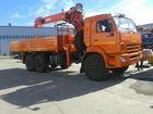Просмотреть изображение  камаз 43118 с манипулятором кму kanglim 1256 35698702 в Ханты-Мансийске